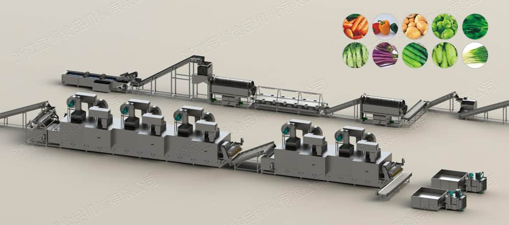 AD Automatic Belt Drying Line