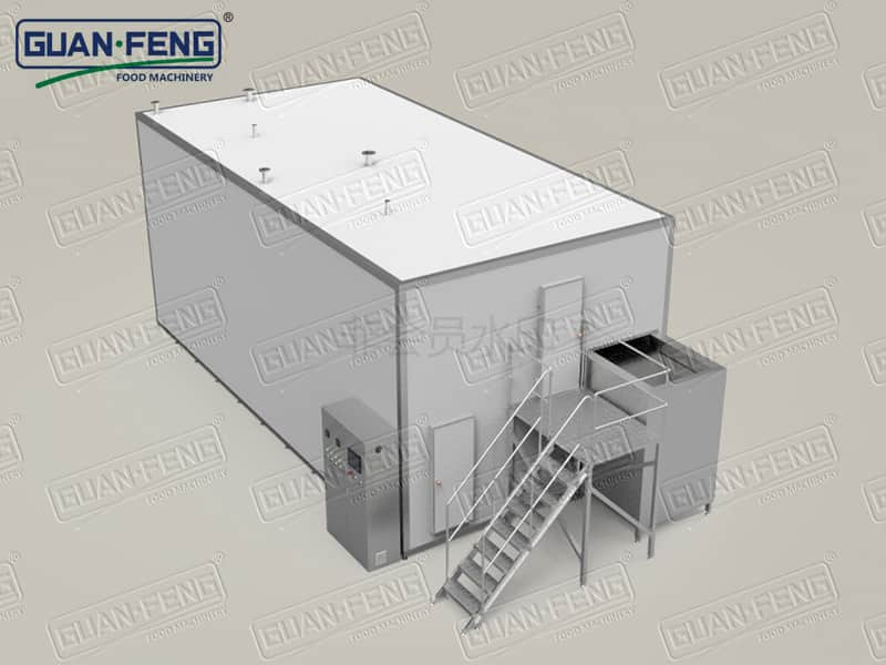 GLZ Fluidized Freezer